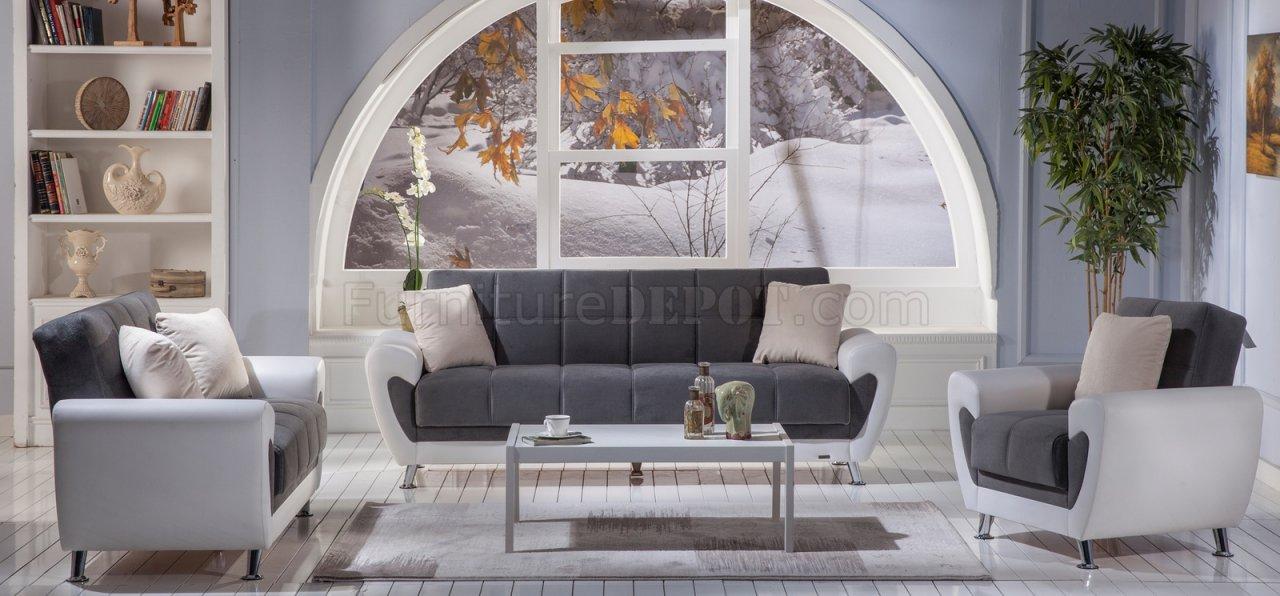 Awe Inspiring Duru Plato Dark Grey Sofa Bed By Istikbal W Options Machost Co Dining Chair Design Ideas Machostcouk