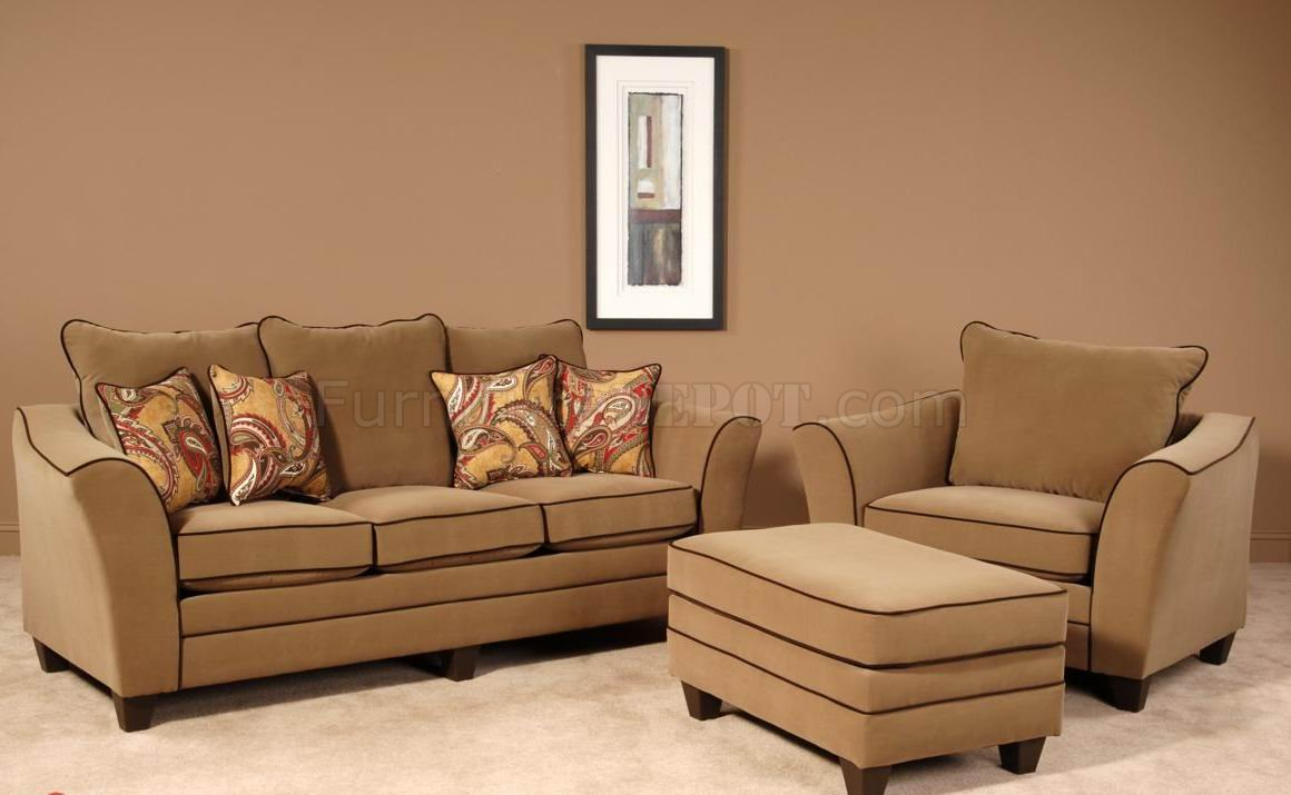 Fabric Upholstered Sofas And Chairs Club Furniture Within