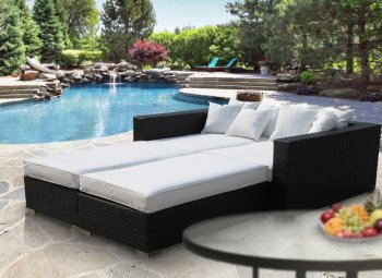 Reviews Palisades Outdoor Patio Daybed Set Choice Of