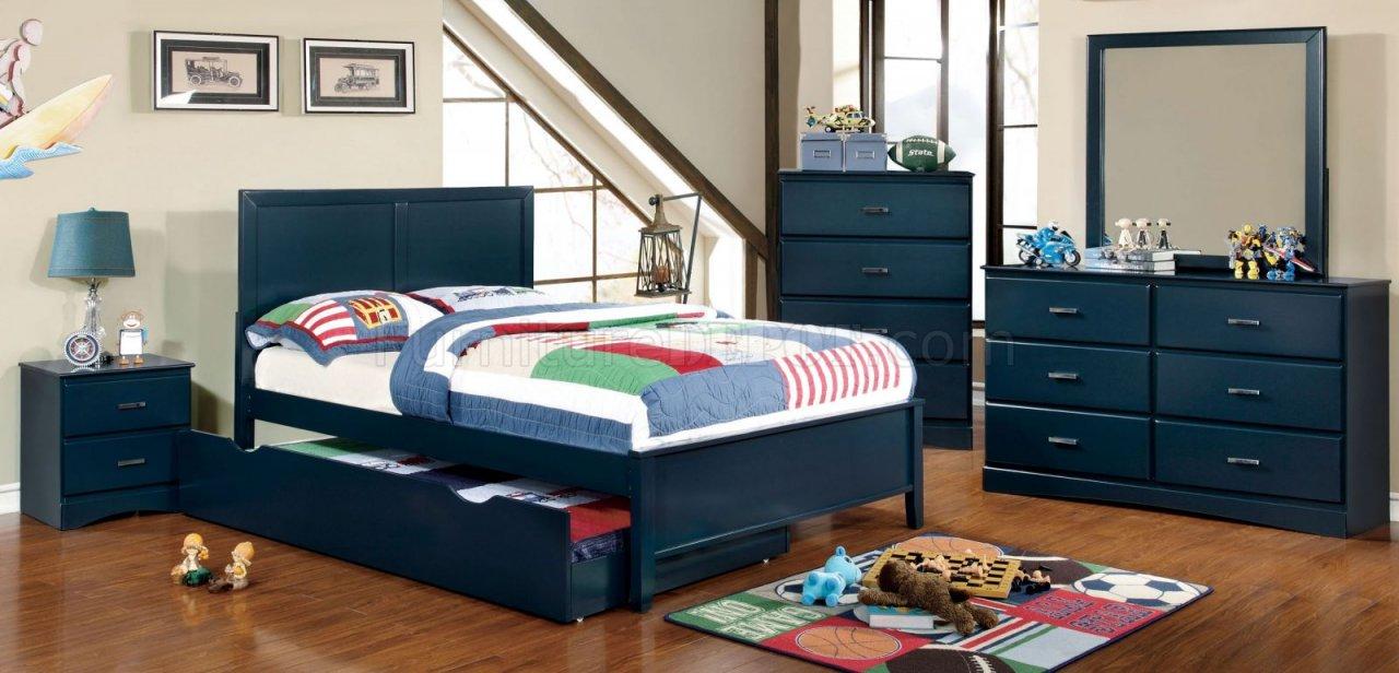 CM7941 4Pc Kids Bedroom Set in Multiple Colors w/Options