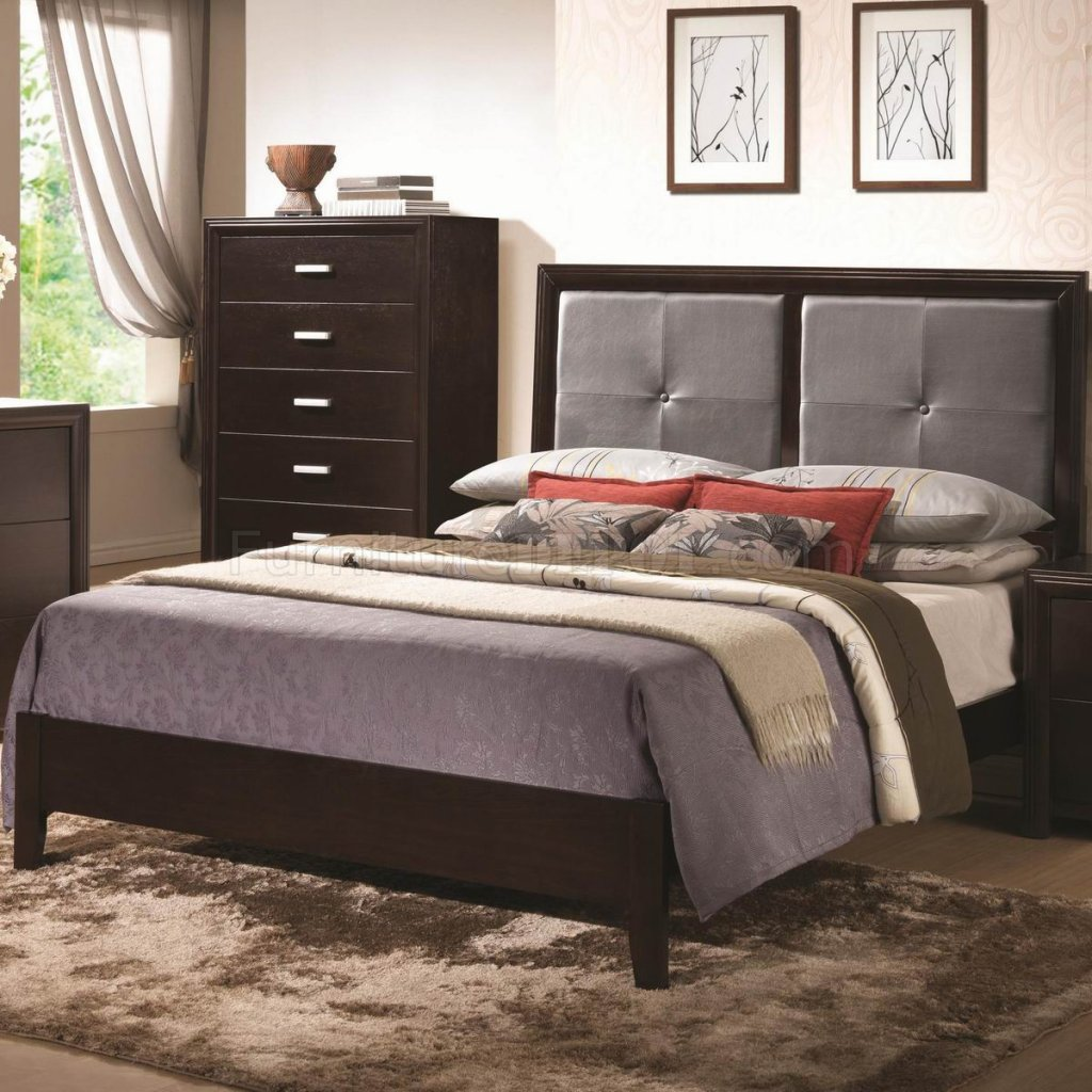 Andreas 202471 bedroom in cappuccino by coaster w options Andreas furniture