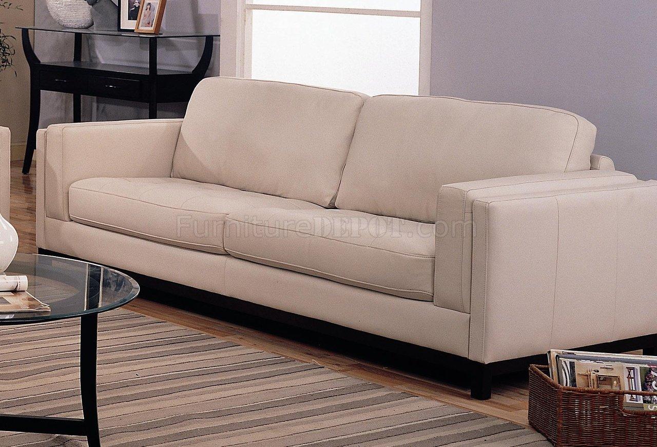 Sofa Contemporary Style contemporary living room 502461 cream