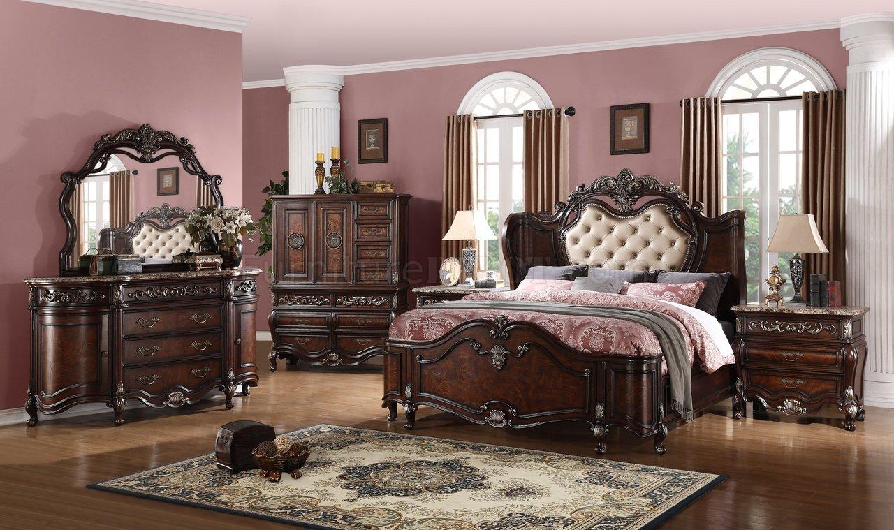tiffany traditional 5pc bedroom set w options