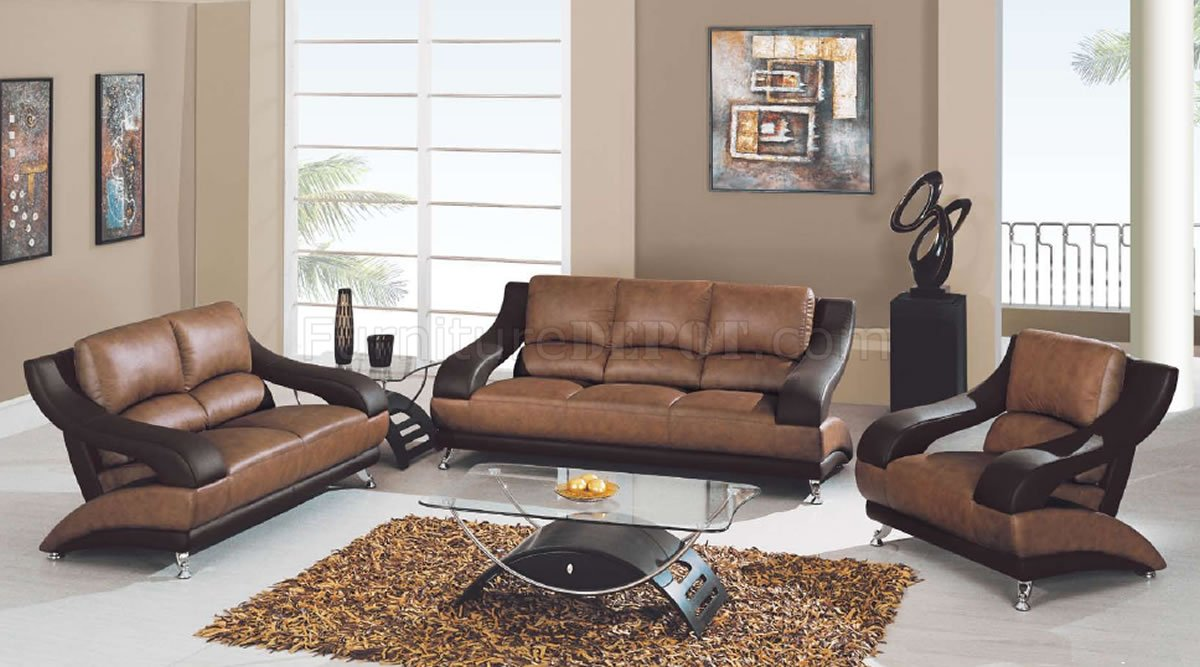 Leather Living Room Sets On