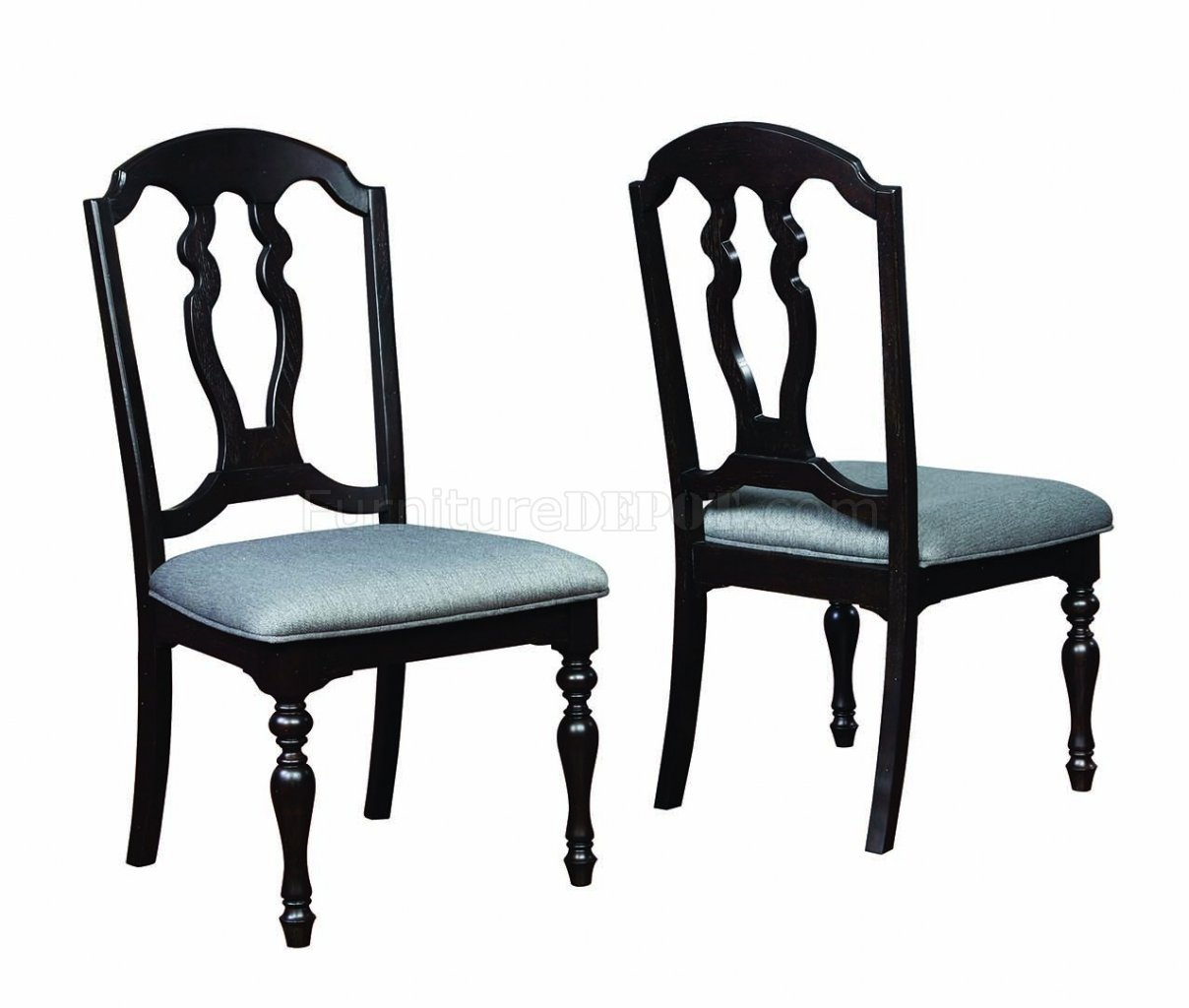 Leon dining table 107331 in black by coaster w options for Leon s dining room tables