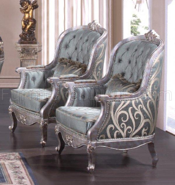 Zara Sofa Table: Zara Silver Traditional Sofa In Fabric W/Optional Items
