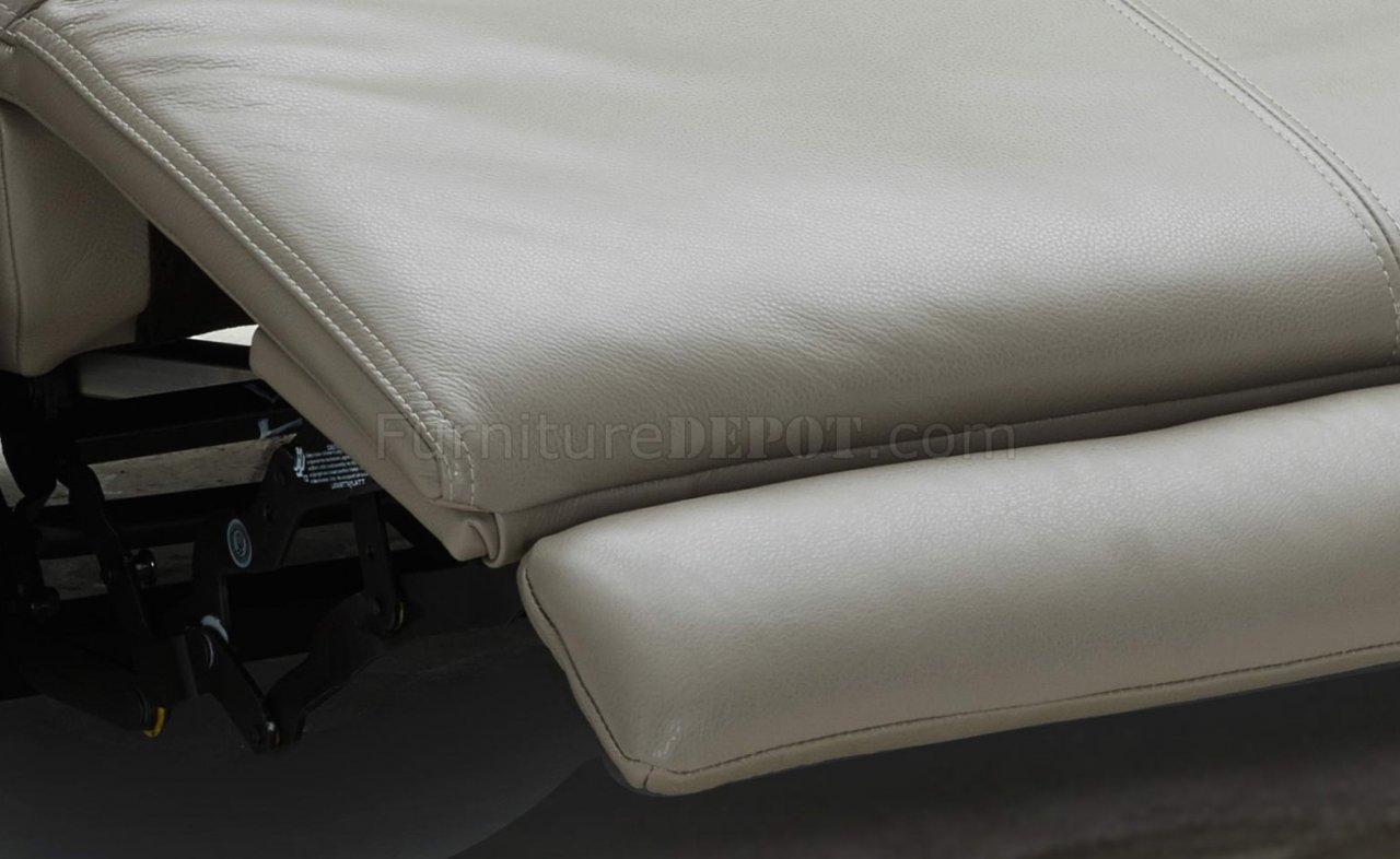 Strange Dylan Power Motion Sectional Sofa In Taupe Leather By Jm Inzonedesignstudio Interior Chair Design Inzonedesignstudiocom