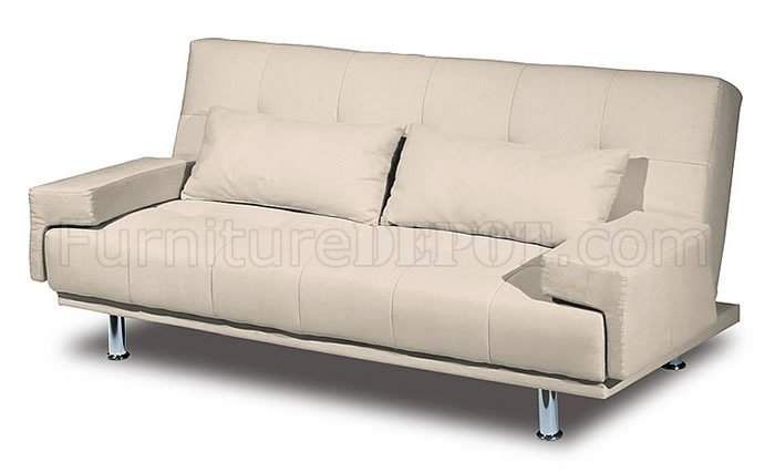 Excellent Sofa Bed Lssb Van Ness Ivory Bralicious Painted Fabric Chair Ideas Braliciousco