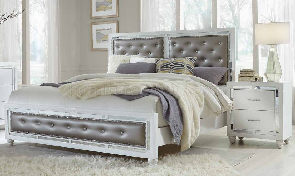 Mackenzie Bedroom Set In White By Global WOptions Extraordinary Mckenzie Bedroom Furniture