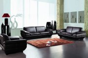 Prestige Sofa by Beverly Hills in Brown Full Leather w/Options