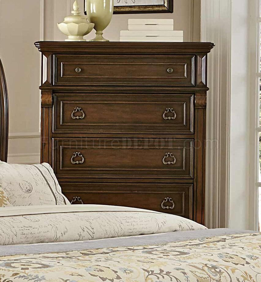 Calloway Park 1801n Bedroom In Cherry By Homelegance W Options