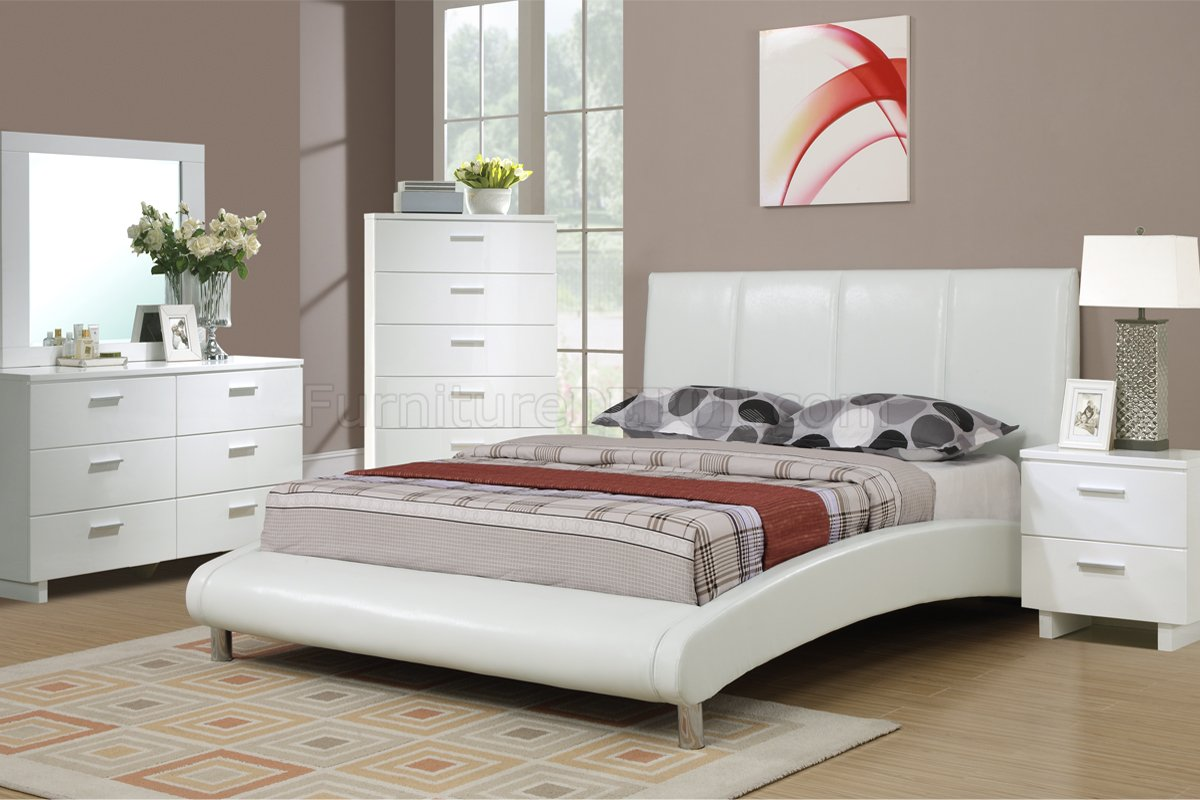 New White Queen Bedroom Set Decoration