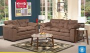 Espresso Microfiber Fabric 50365 Lucille Sofa w/Options by Acme