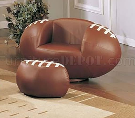 Kid S Sport Chair With Football Ball Shape
