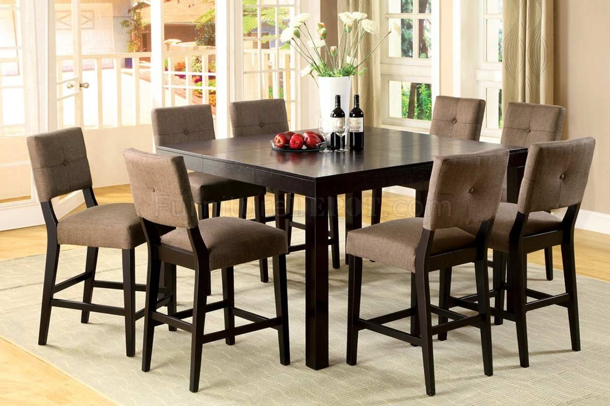 Cm3311pt bay side ii 7pc counter height dining set w options for Counter height dining set