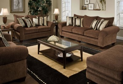 Loveseat And Lounge Chair Set