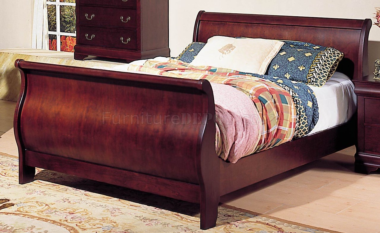 Queen Size Sleigh Bed Frame Plans