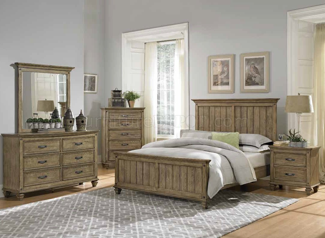 sylvania 2298 bedroom in driftwood by homelegance w options hebs 2298