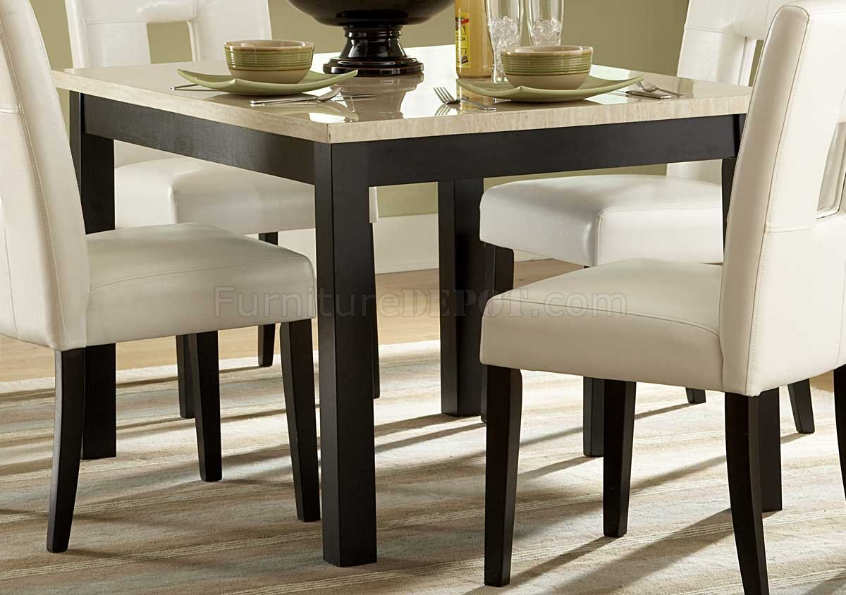 Archstone 3270-48 Dining Table W/Faux Marble Top & Options
