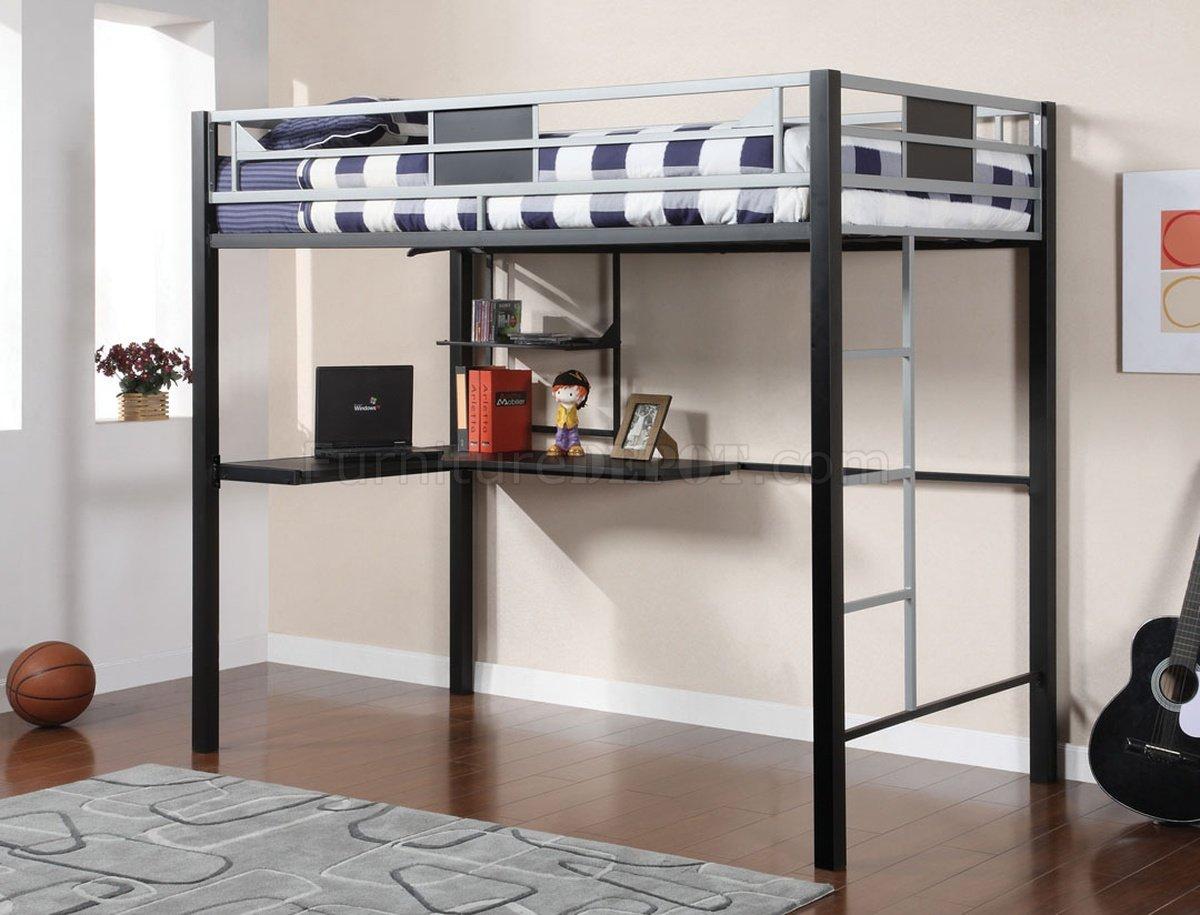 Cm Bk1027 Clifton Loft Bed W Workstation Amp Optional Side