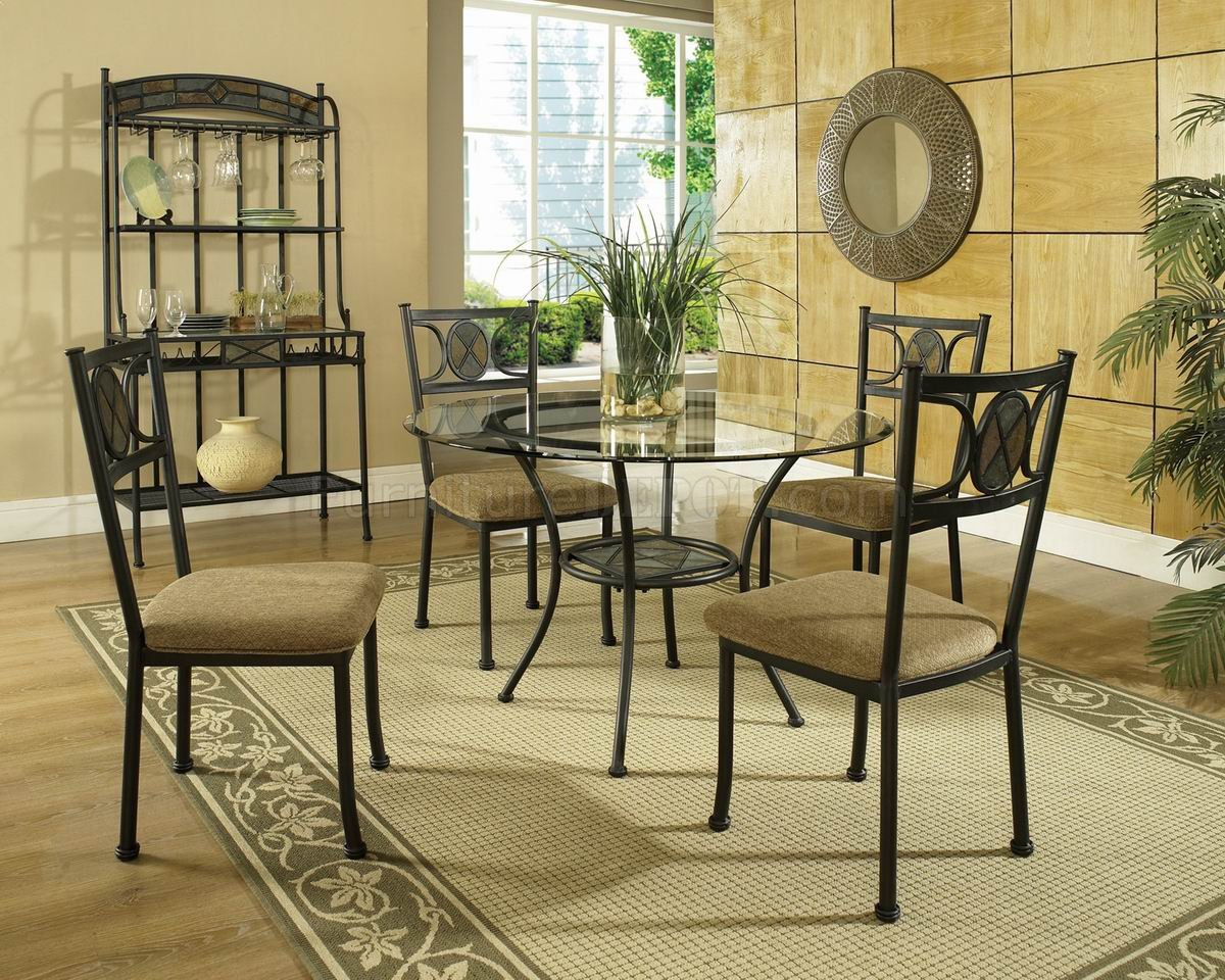 Round Glass Top Modern Dining Table wOptions : 29e0f36afad35a2b3f3f2cb4dae6659aimage1200x960 from www.furnituredepot.com size 1200 x 960 jpeg 295kB