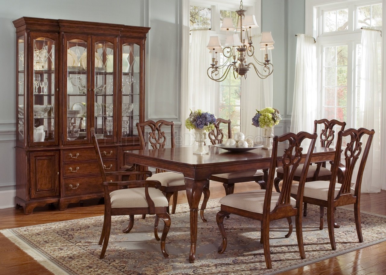Ansley Manor 577-T4490 Dining Table in Cinnamon w/Options