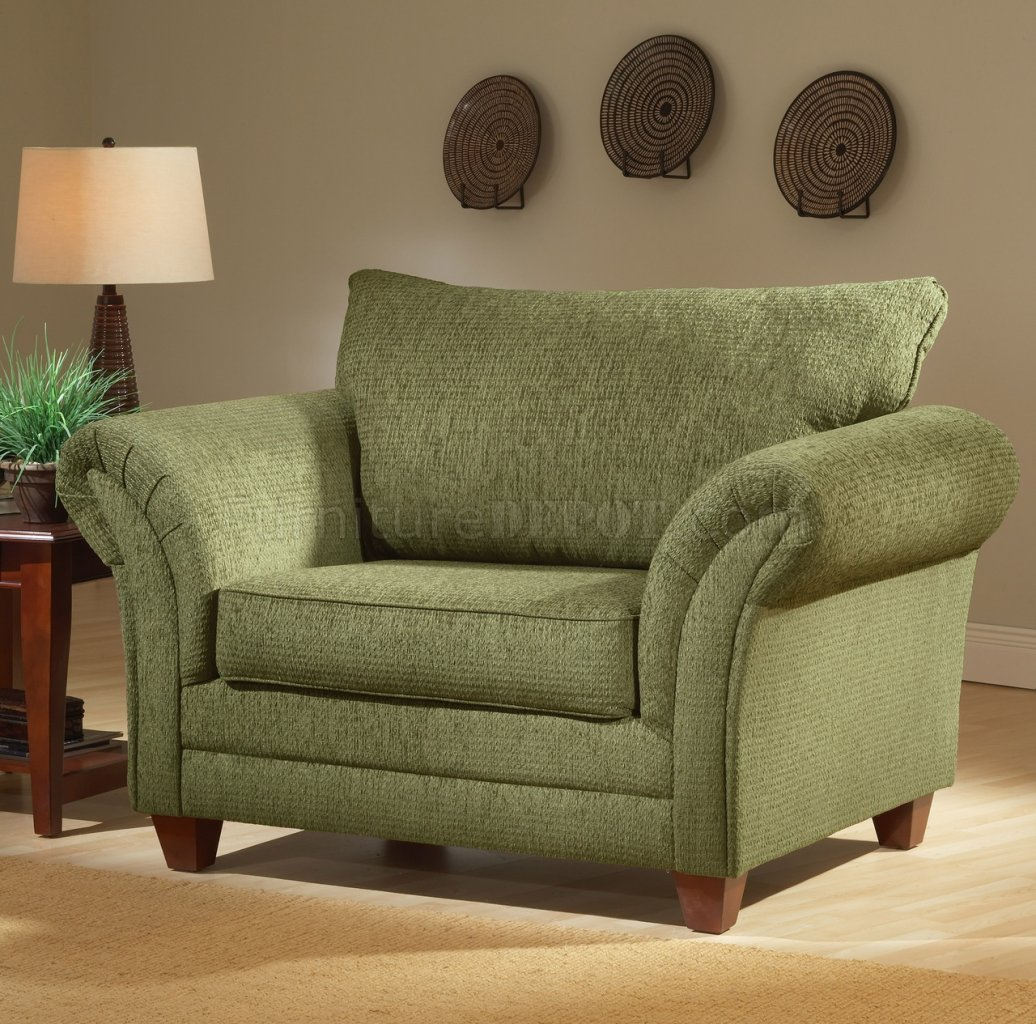 I love the rounded back of this overstuffed chair i looks for Comfy living room sets