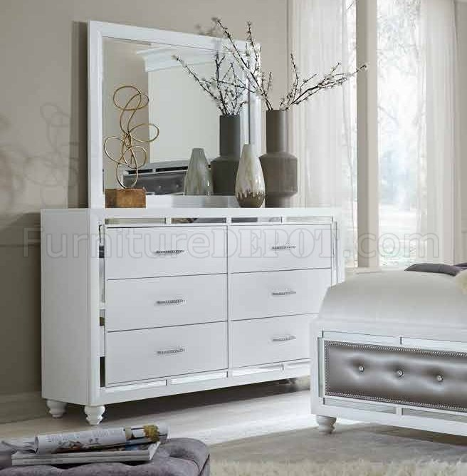 Mackenzie Bedroom Set In White By Global WOptions Inspiration Mckenzie Bedroom Furniture