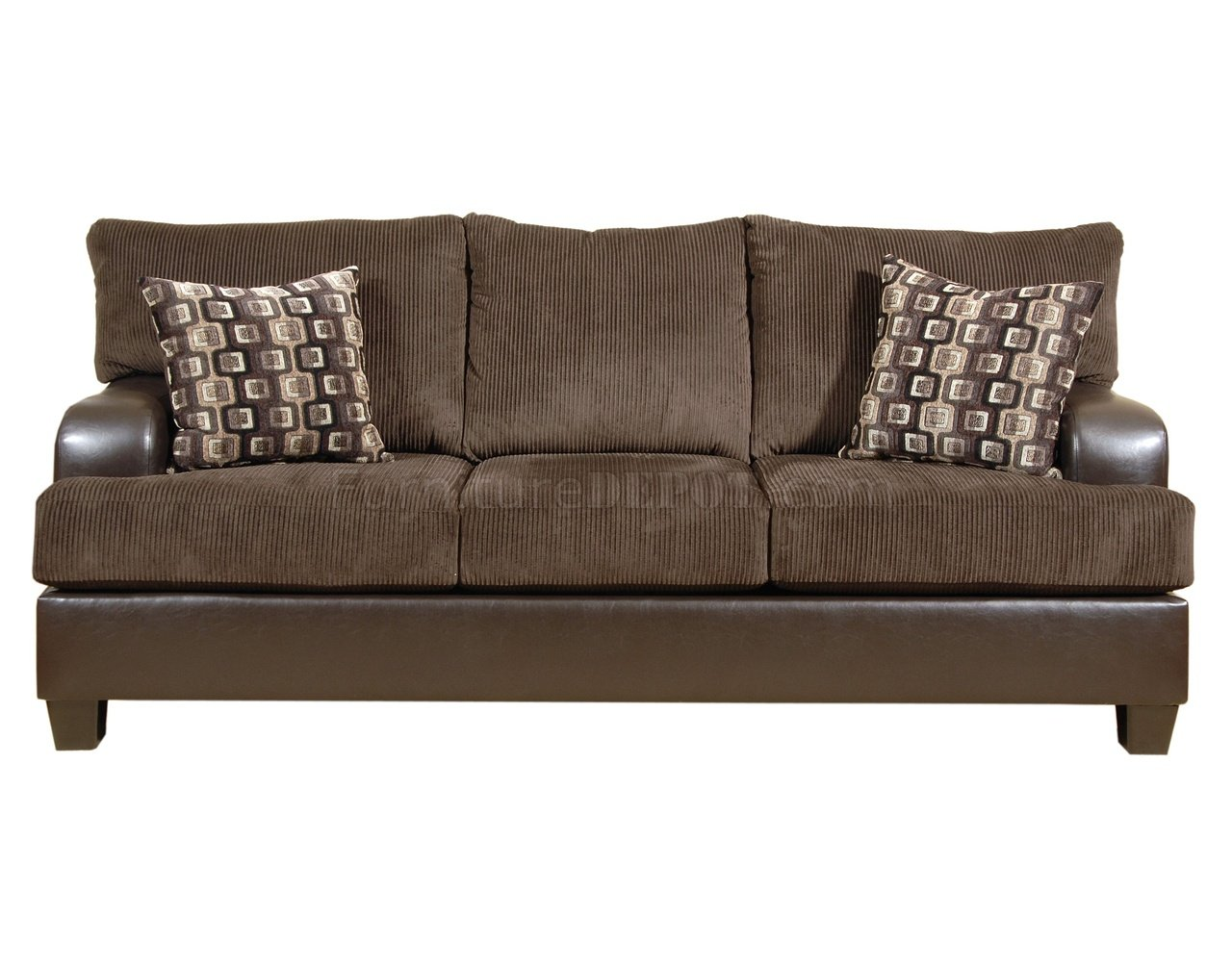 Chocolate microfiber sofa loveseat w optional ottoman chair Brown microfiber couch and loveseat
