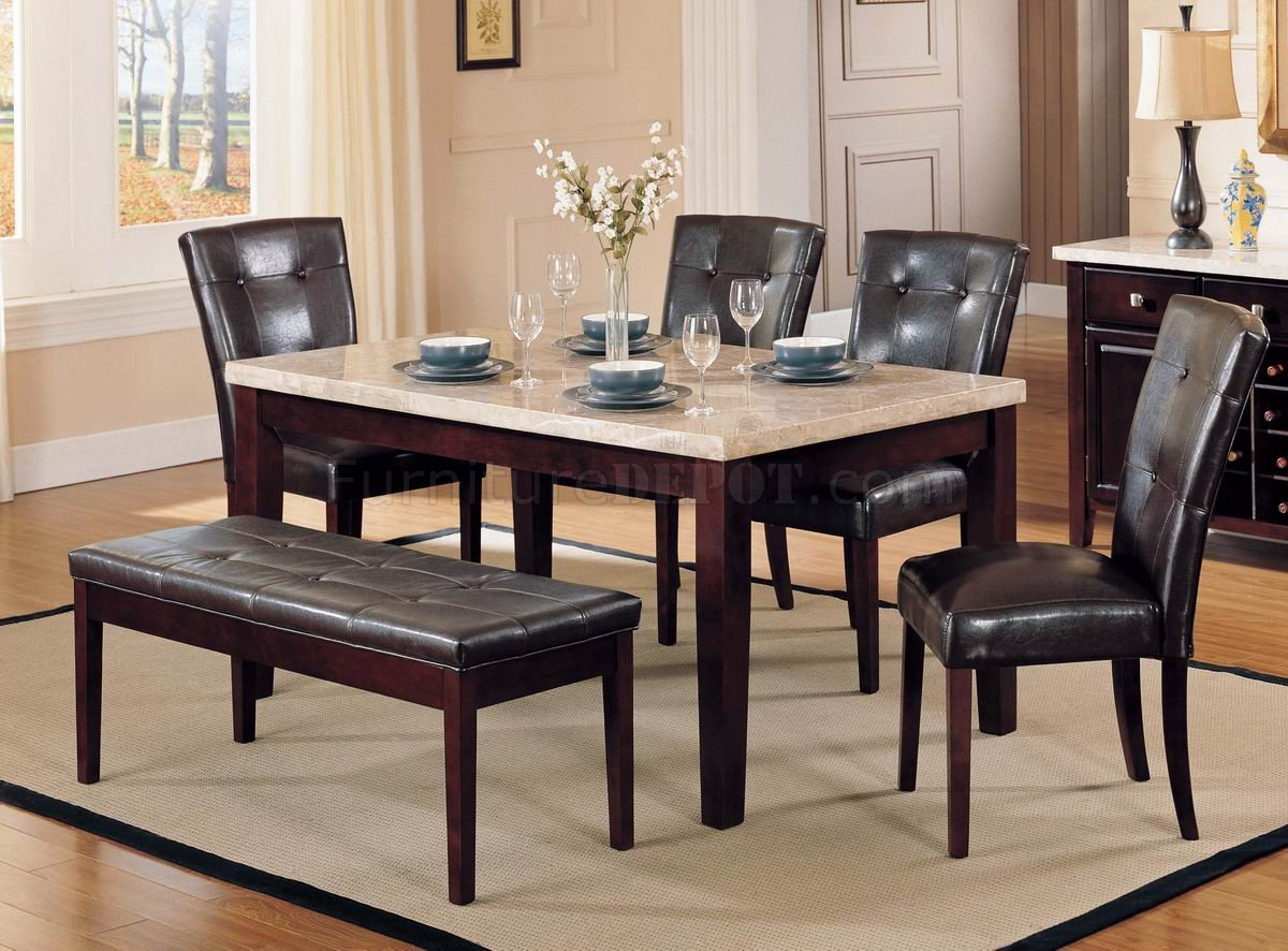 Remarkable Faux Marble Top Modern Dining Table w/Optional Items 1200 x 886 · 197 kB · jpeg