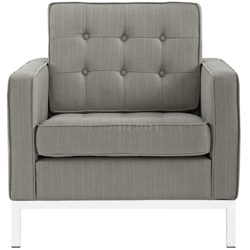... -GRA Sofa in Granite Fabric by Modway w/Options MWS EEI 2052 GRA Loft