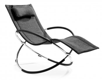 Reviews black microfiber modern chaise lounger with for Black microfiber chaise