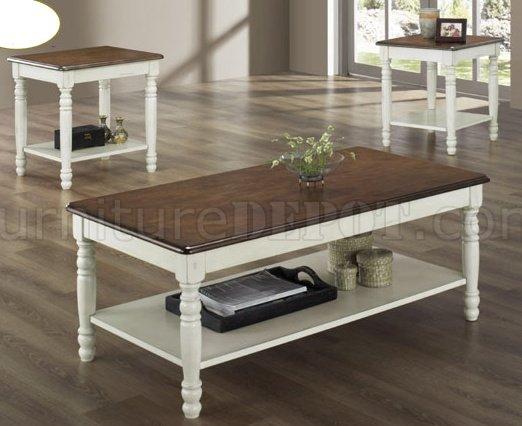 Ohana 1393W 3Pc Coffee Table Set By Homelegance HECT 1393W 31 Ohana