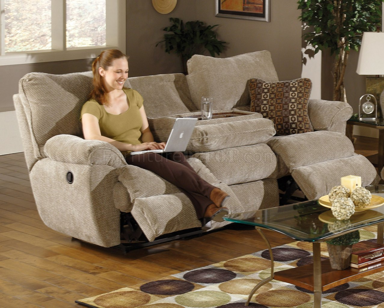 Sable/Earth Fabric Madison Reclining Sofa u0026 Loveseat Set & Earth Fabric Madison Reclining Sofa u0026 Loveseat Set islam-shia.org