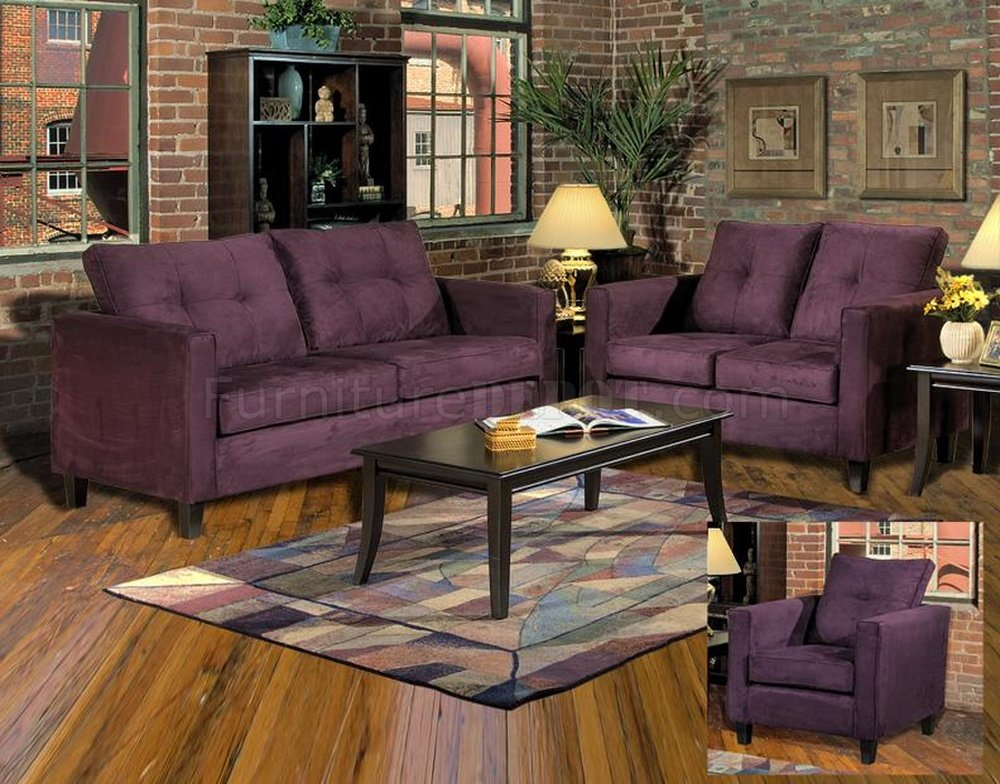 5900 Heather Sofa amp Loveseat Set in Eggplant Fabric by Chelsea : 3229461d3595649db8c636cfbaf72626image1000x784 from www.furnituredepot.com size 1000 x 784 jpeg 175kB