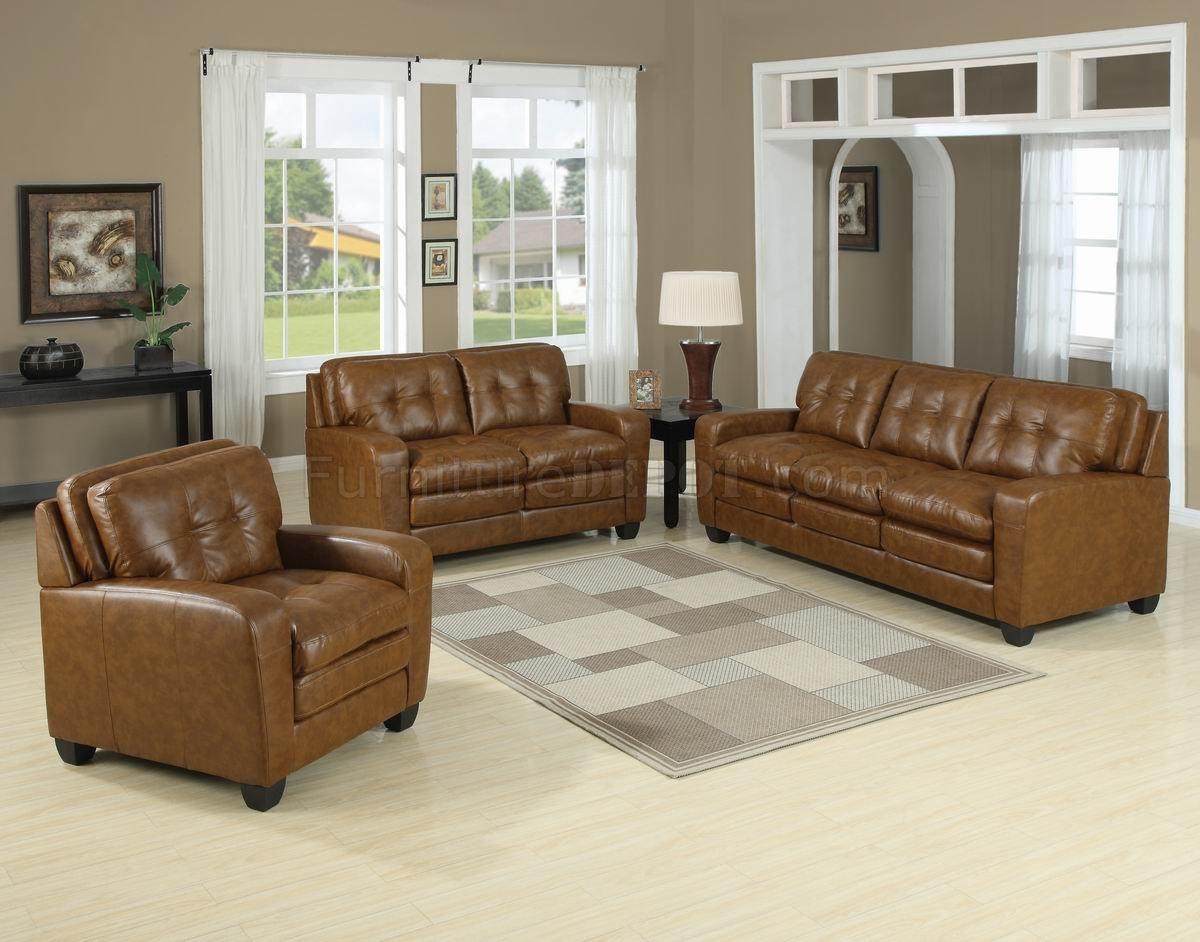 Steve Silver Silverado 4-Piece Living Room Set in Caramel ...