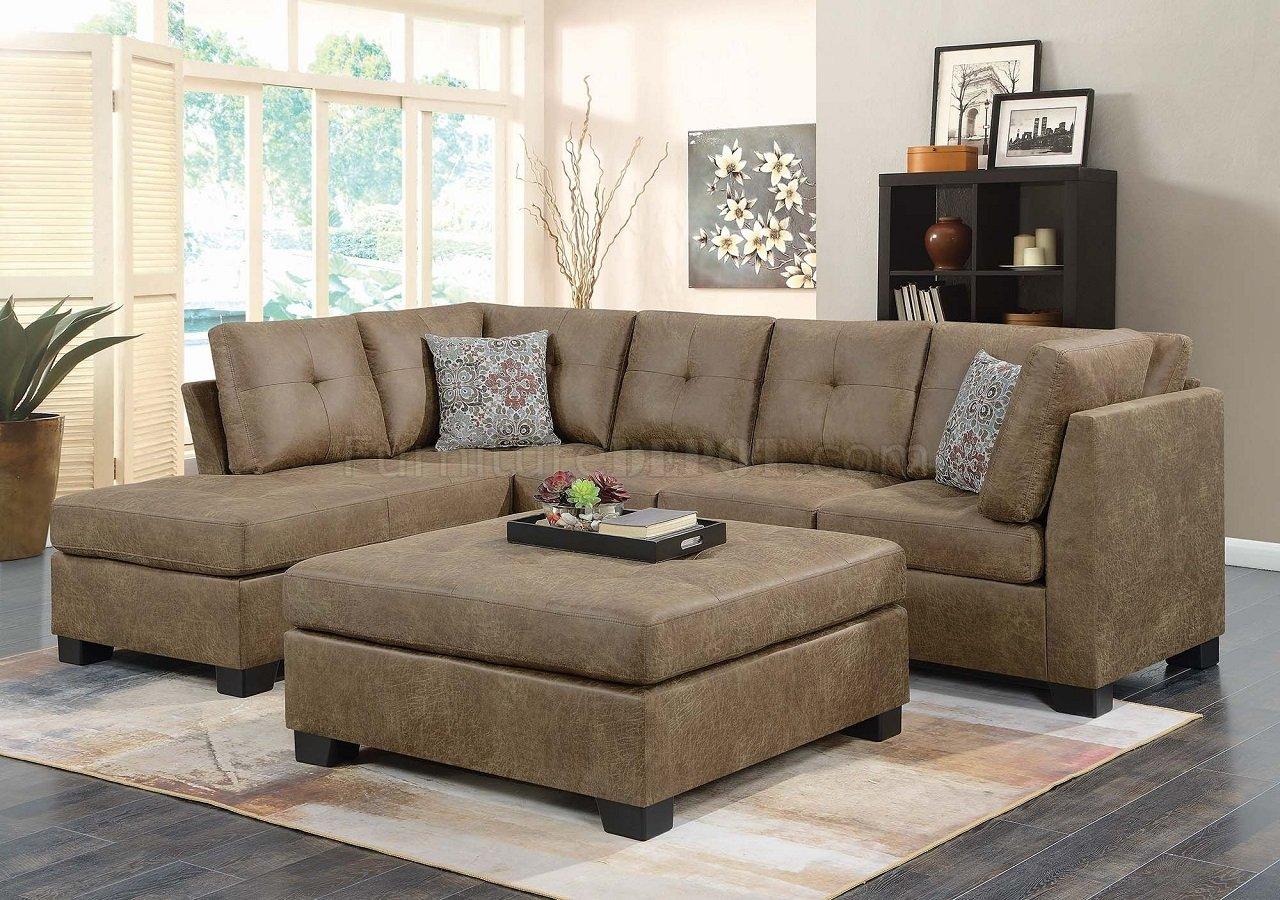 Darie Sectional Sofa 508528 In Golden