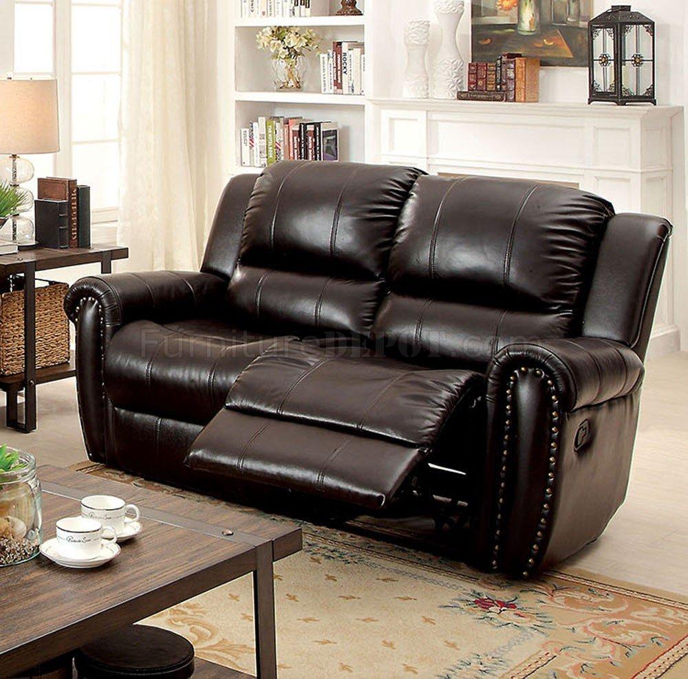 Foxboro Reclining Sofa CM6909 in Brown Leather Match w/Options & Reclining Sofa CM6909 in Brown Leather Match w/Options islam-shia.org