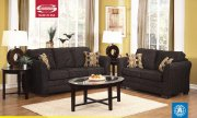 Ebony Chenille Fabric 50415 Modern Lexi Sofa w/Options by Acme
