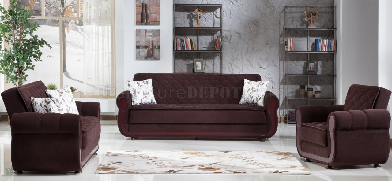 Argos Colins Brown Sofa Bed In Fabric By Istikbal W Options