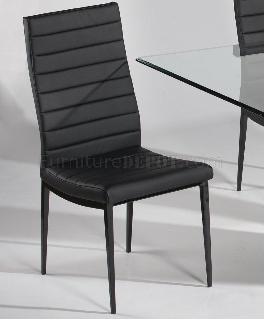 Glass Top amp Black Gloss Base Dining Table wOptional Chairs : 3b3c1912e651de68c7fe190eca6b1e73image847x1024 from www.furnituredepot.com size 847 x 1024 jpeg 64kB