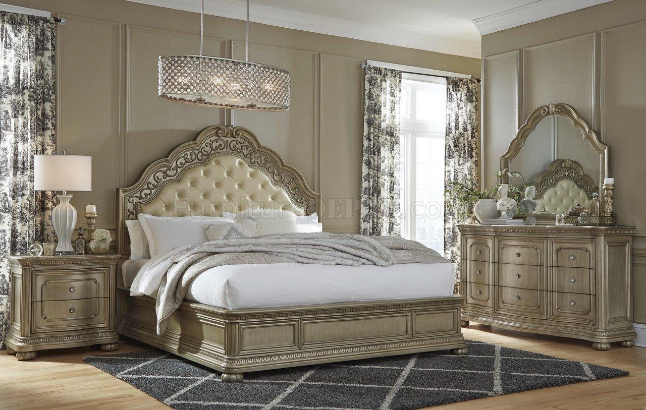 bordeaux bedroom in goldglobal woptions