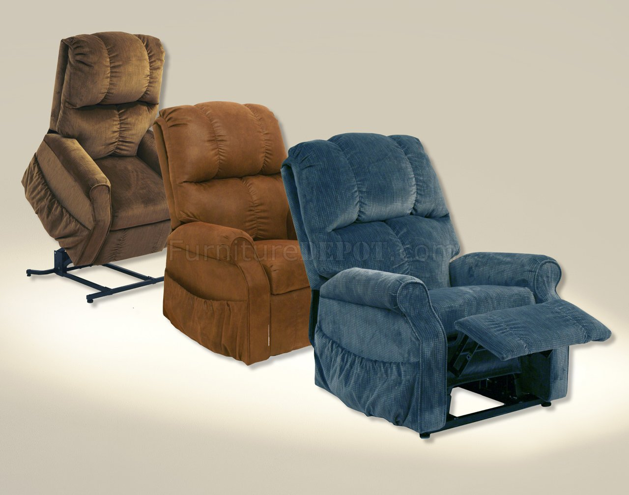 Choice Of Color Fabric Somerset Modern Power Lift Recliner