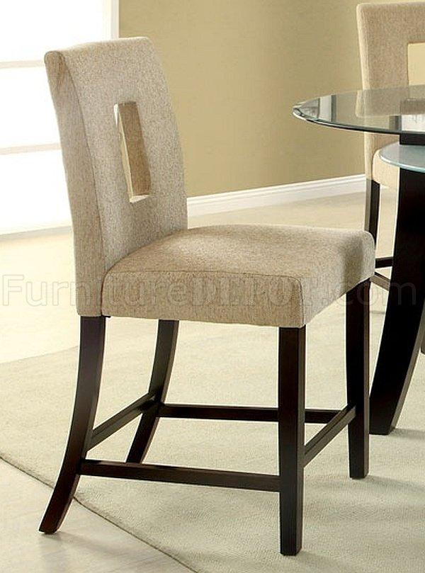 CM3127PT Grandam II 5Pc Counter Height Dinette Set w/Glass Top