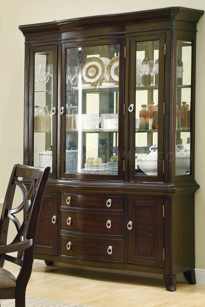 Meredith 103534 Buffet In Espresso By Coaster W Optional Hutch
