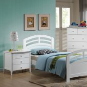 headboard with nightstands 30120 classique bedroom in white by acme w options 11778