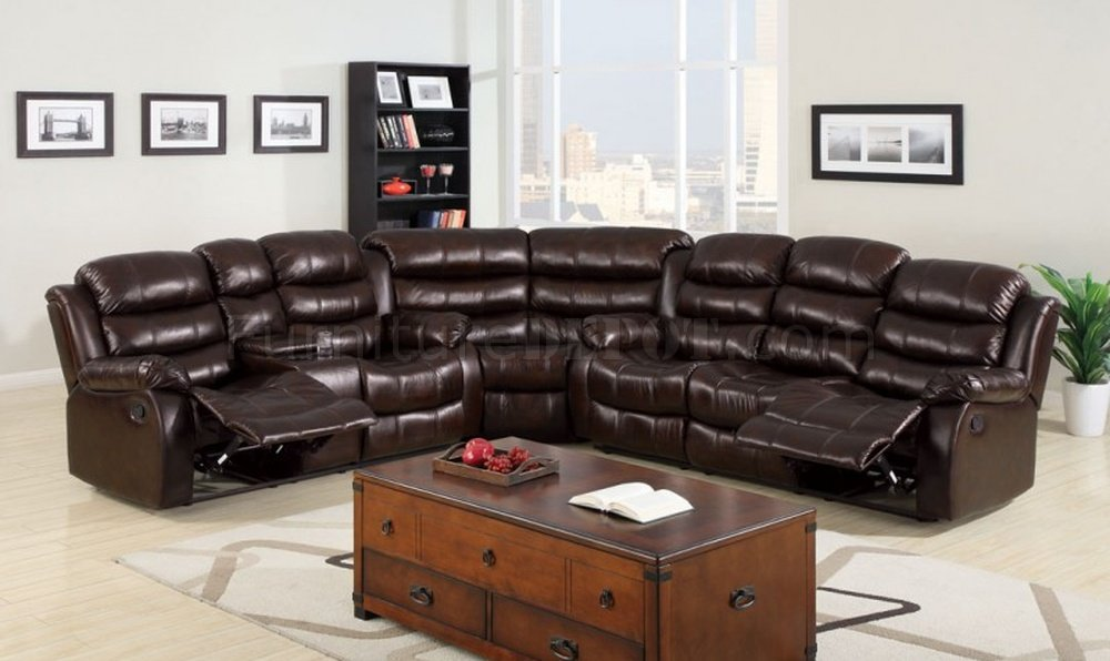 Amazing Berkshire Reclining Sectional Sofa Cm6551 In Leather Like Fabric Pabps2019 Chair Design Images Pabps2019Com