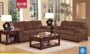 Espresso Microfiber Fabric 50380 Aislin Sofa w/Options by Acme
