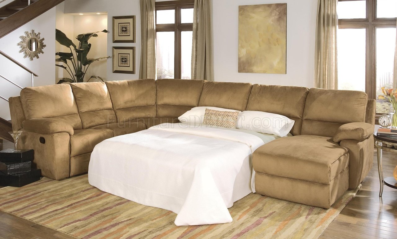 butternut micro suede reclining sectional sofa