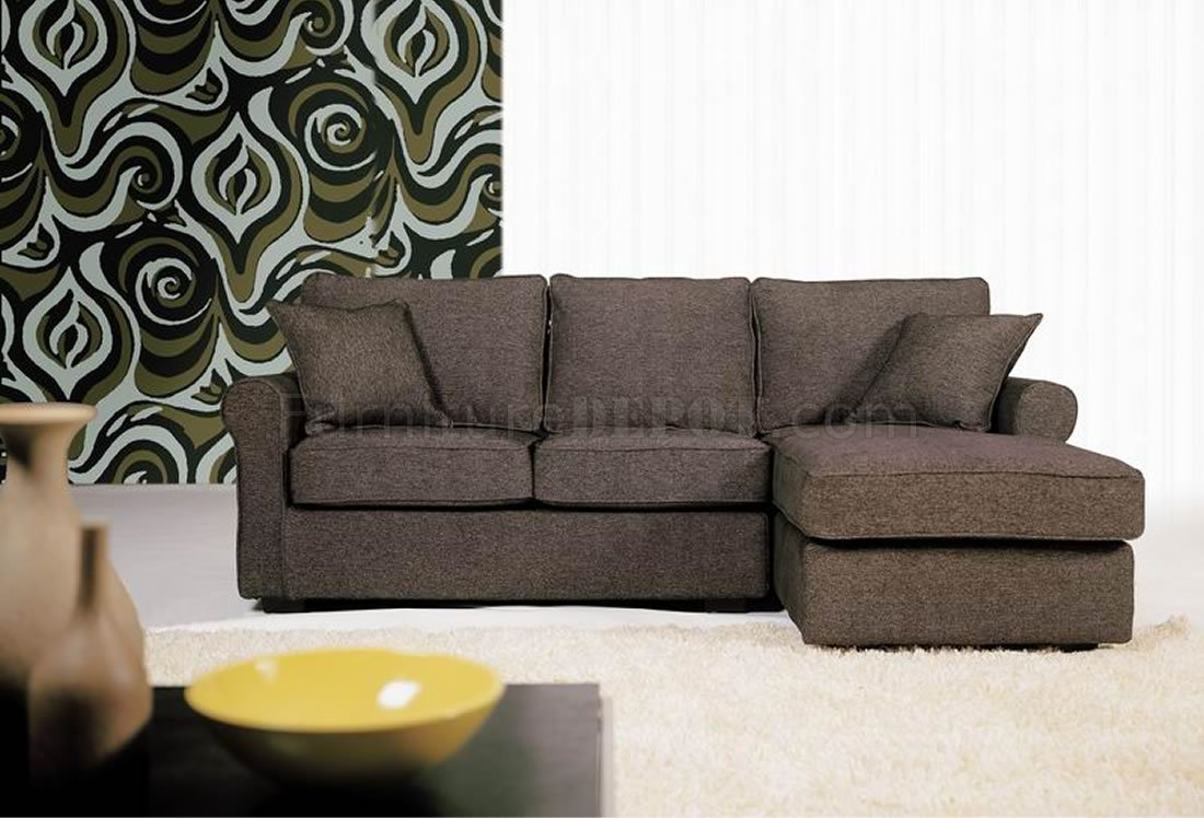 Contemporary Small Sectional Sofa In